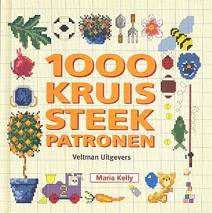 1000 kruissteekpatronen